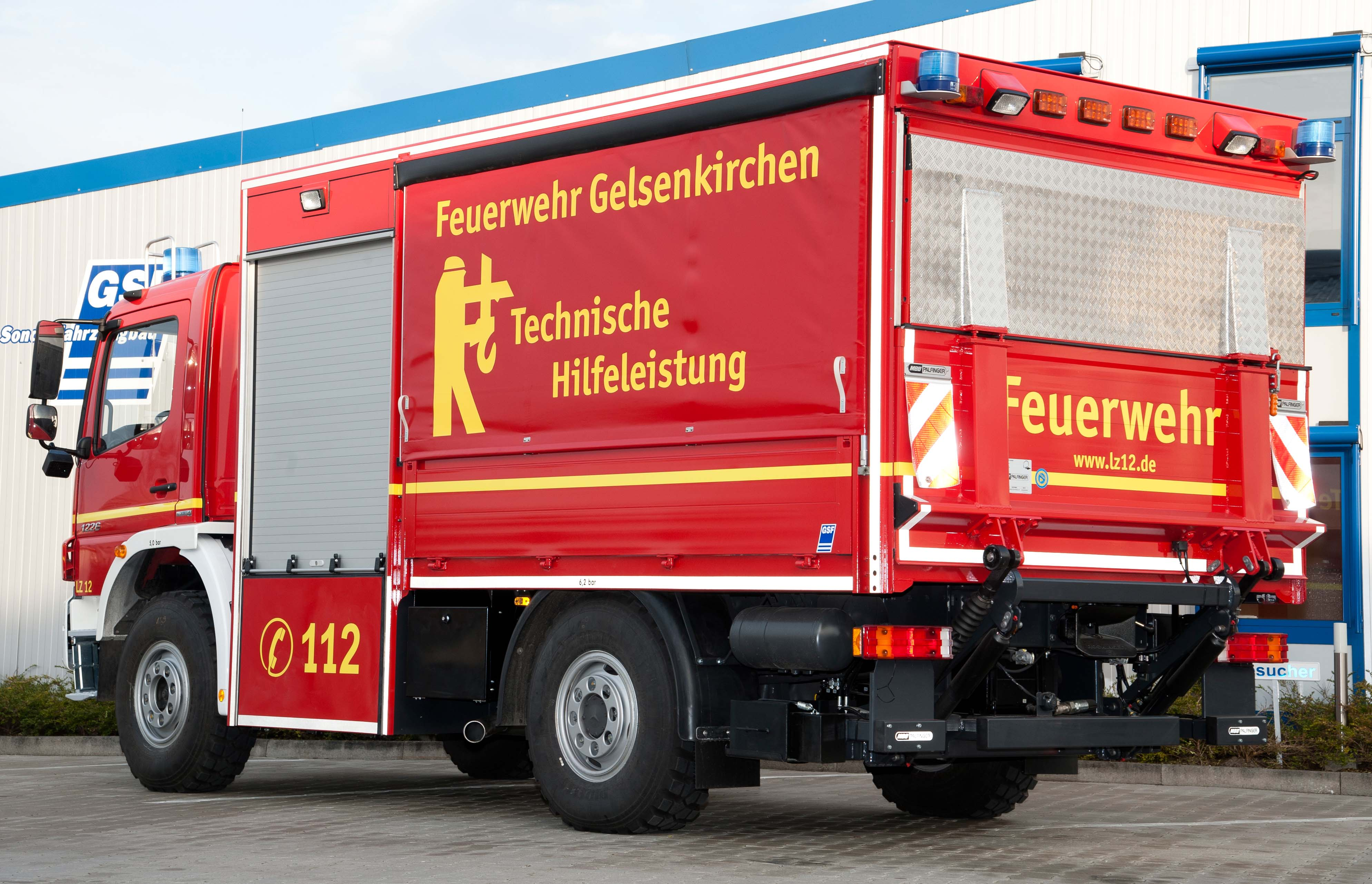 ger tewagen logistik f r die feuerwehr gelsenkirchen gsf. Black Bedroom Furniture Sets. Home Design Ideas